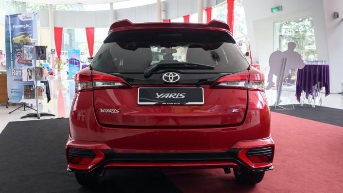 2019 Toyota Yaris 1.5E Exterior 004