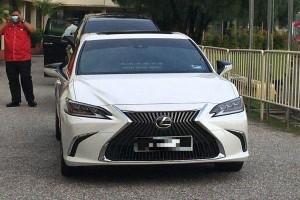 Perak MB upgrades from Toyota Camry to Lexus ES