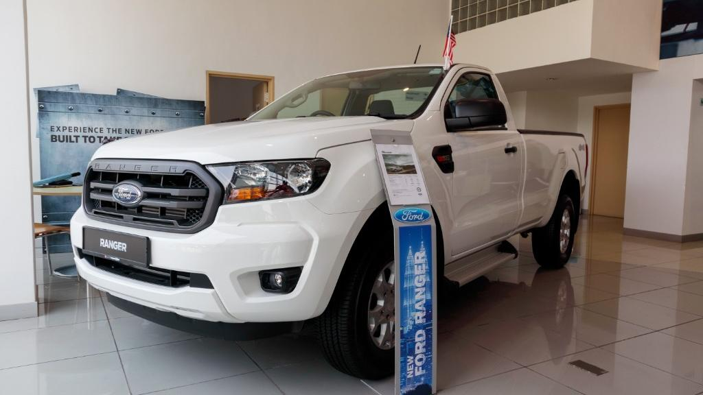 2018 Ford Ranger 2.0 Si-Turbo XLT+ (A) Exterior 001
