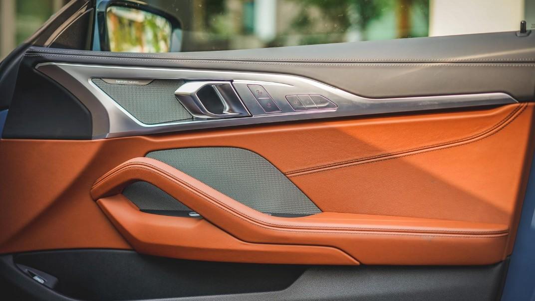 2020 BMW 8 Series 840i Gran Coupé M Sport Interior 014