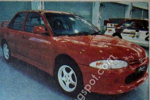 The Proton Sembilu, Malaysia's homemade Lancer Evo with 4G63T and AWD
