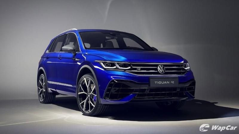 2021 vw tiguan facelift tiguan r joins the lineup  wapcar