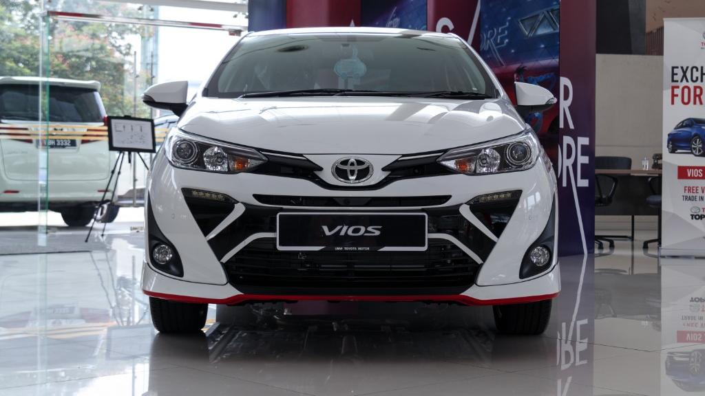 2019 Toyota Vios 1.5G Exterior 002