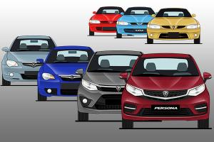 Evolution of the Proton Persona in 27 years – Will it ever match the City and Vios?
