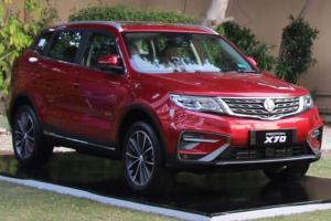 Proton X70 previewed in Pakistan, powered by 1.5L from X50