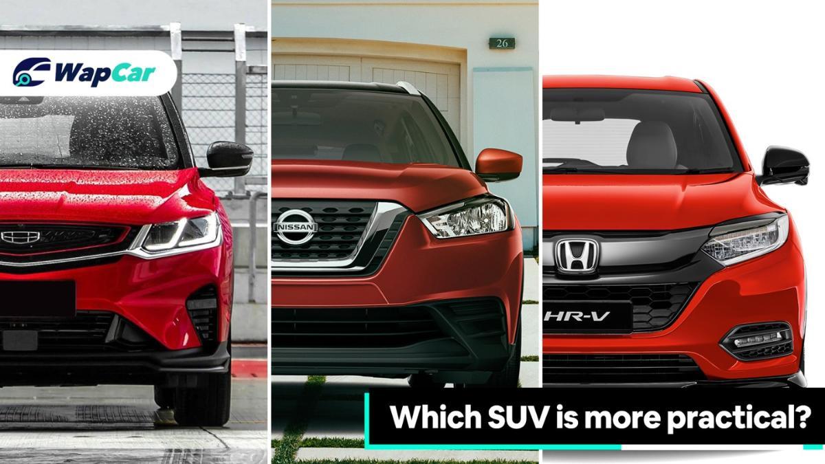 Proton X50 vs Nissan Kicks vs Honda HR-V – Which one is more practical? 01