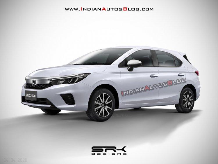 2020 Honda City Hatchback rendering