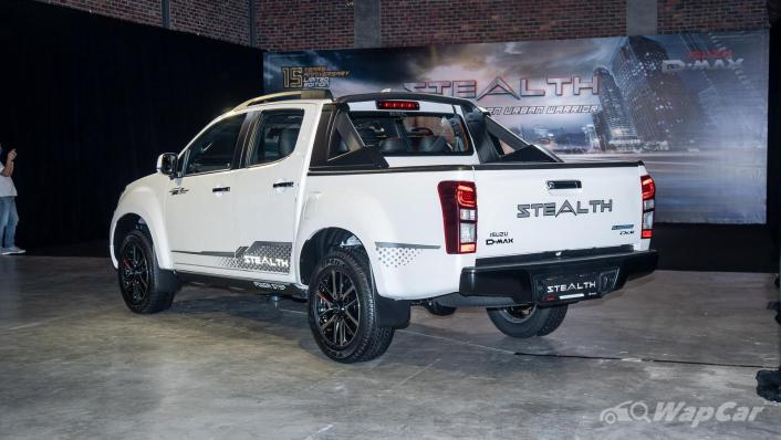 2020 Isuzu D-Max Stealth 1.9L 4×4 AT Exterior 004