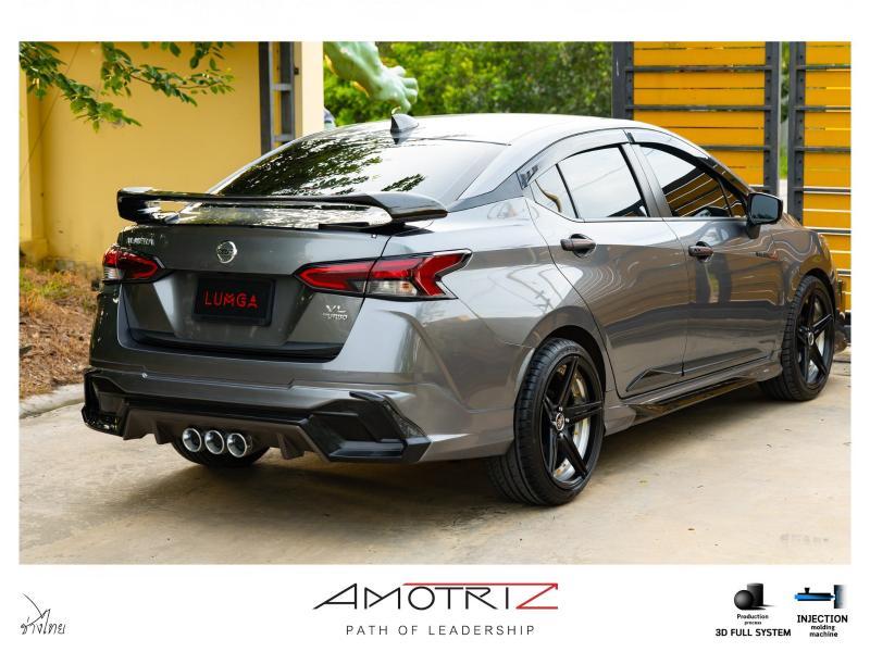 Kit badan LUMGA untuk Nissan Almera 2020 – agresif macam Civic Type-R! 02