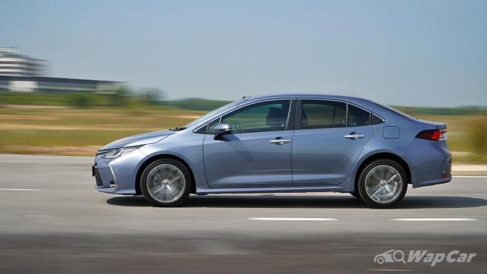2020 Toyota Corolla Altis 1.8E Exterior 008