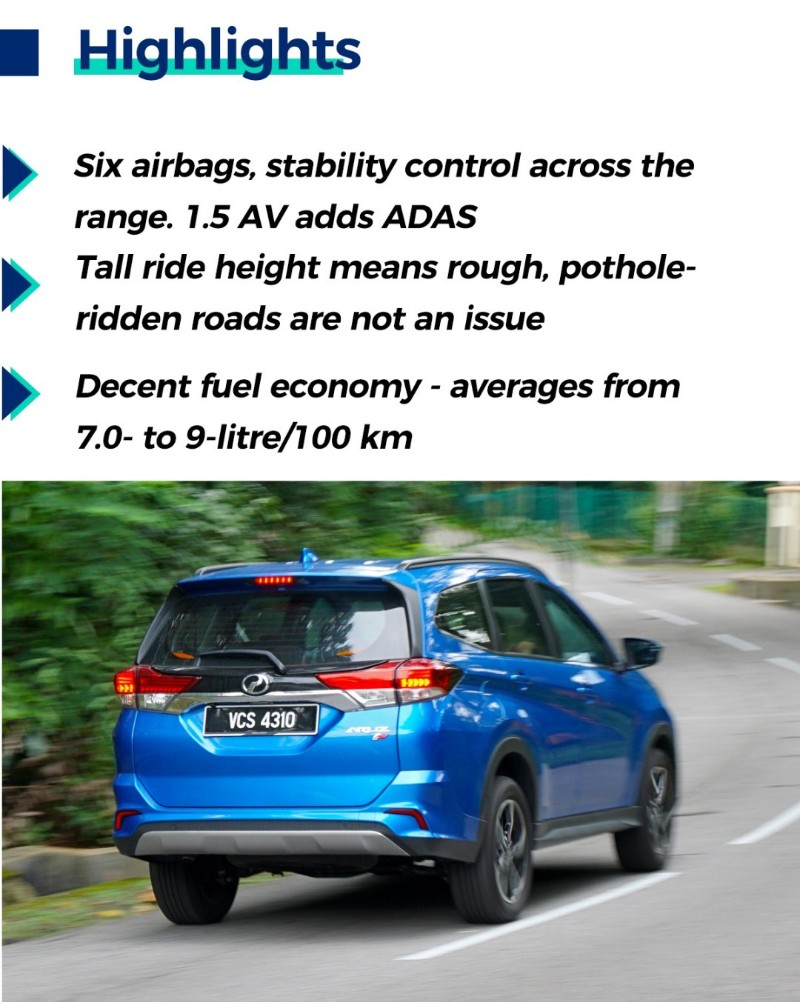 Review: Perodua Aruz 1.5 AV, is it worth paying RM 77,900 for a Perodua? 02