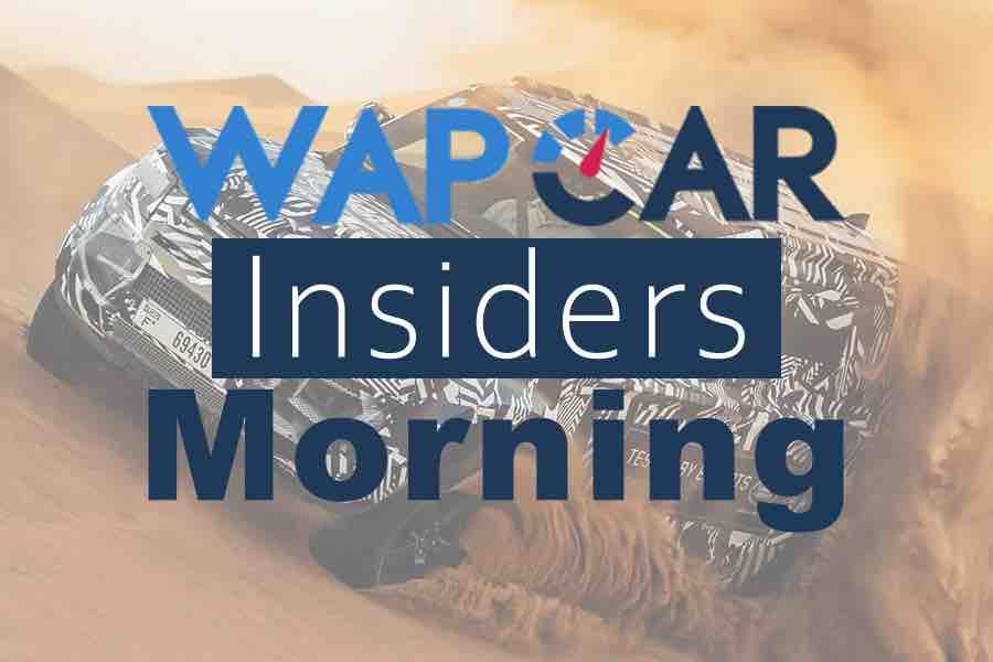 Wapcar Morning Insiders (Sep. 10, 2019)