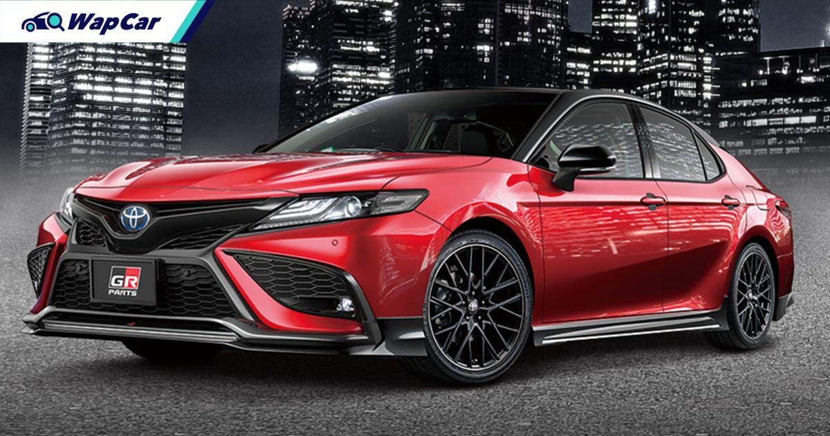 Japan's 2021 Toyota Camry gets RM 35k worth of GR parts - best daily next to GR Yaris? 01