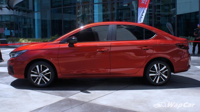 2020 Honda City serba baru pandangan awal dari media Thailand. Wajar pertimbang varian selain RS? 02
