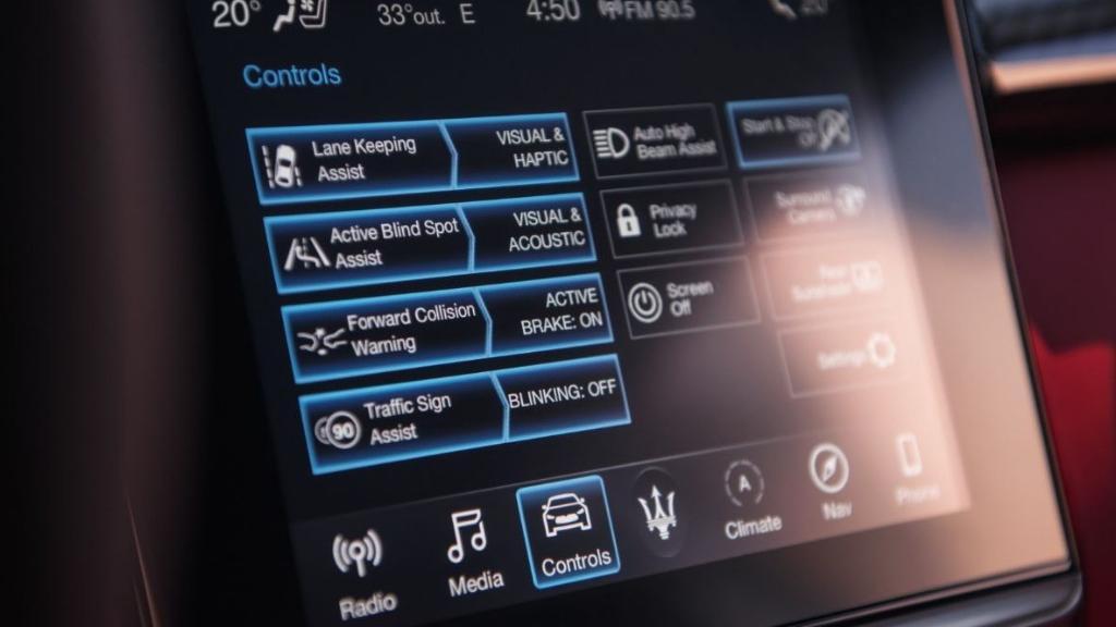 Maserati Quattroporte (2019) Interior 004
