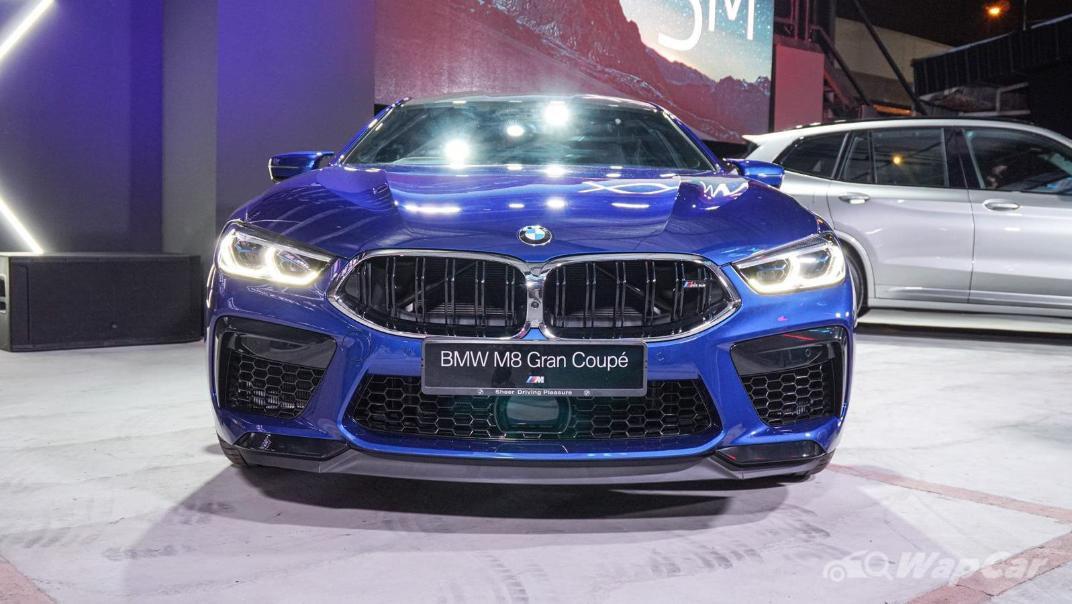 2020 BMW M850i xDrive Gran Coupe Exterior 002