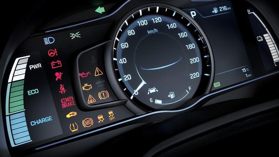 Hyundai Ioniq (2018) Interior 005