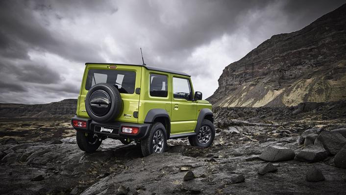 2021 Suzuki Jimny Exterior 009