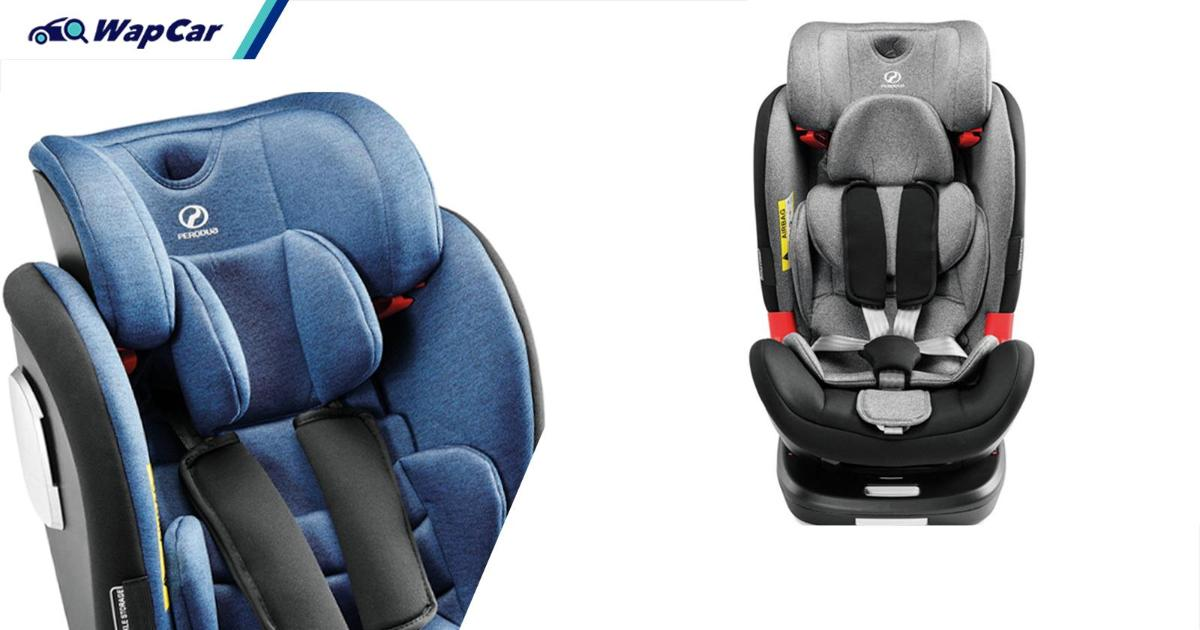 Perodua introduces Care Seat, new more versatile child seats for children of all ages 01