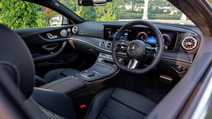 2021 Mercedes-Benz E-Class Coupe E300 AMG Line Interior 004