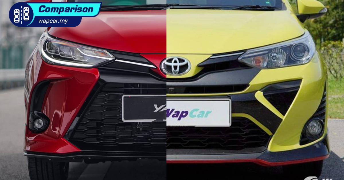 2021 Toyota Yaris facelift - new vs old, small price bump but what's new? 01