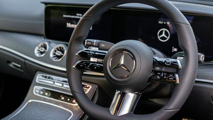 2021 Mercedes-Benz E-Class Coupe E300 AMG Line Interior 006
