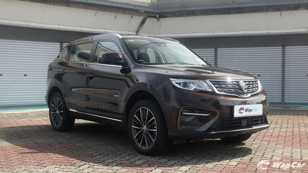2018 Proton X70 1.8 TGDI Premium 2WD Exterior 043