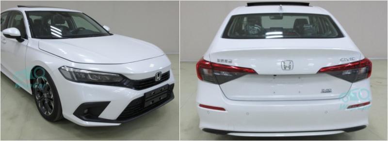 Spyshot: Honda Civic FE 2022 versi produksi dilihat di China 02