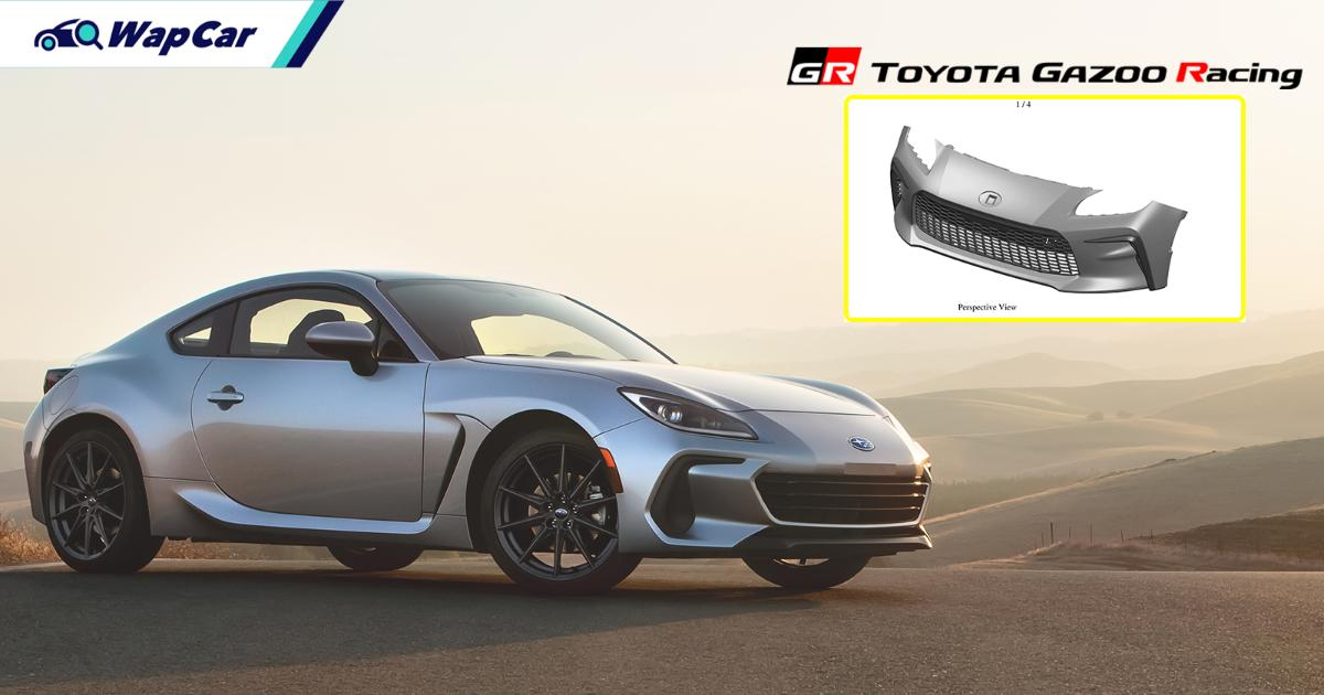 Leaked: Patent images of the 2021 Toyota GR86's aggressive front bumper! 01