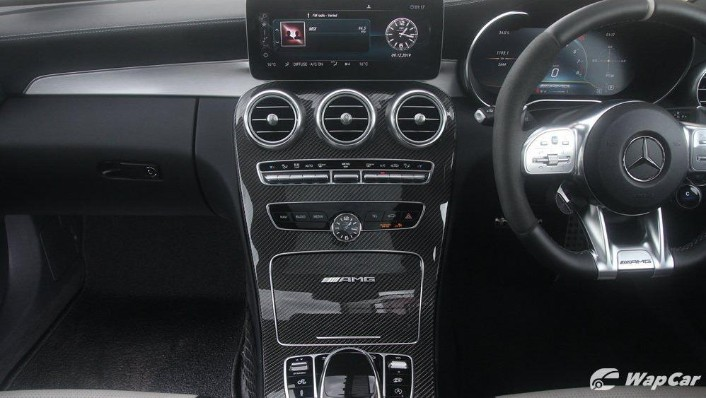 2019 Mercedes-Benz AMG C-Class AMG C63 Interior 003