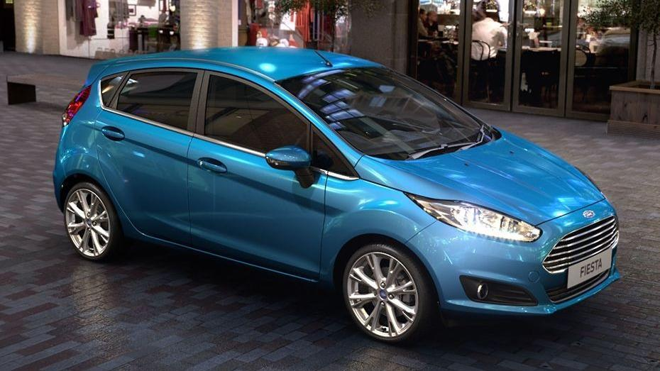 Ford Fiesta (2017) Exterior 004