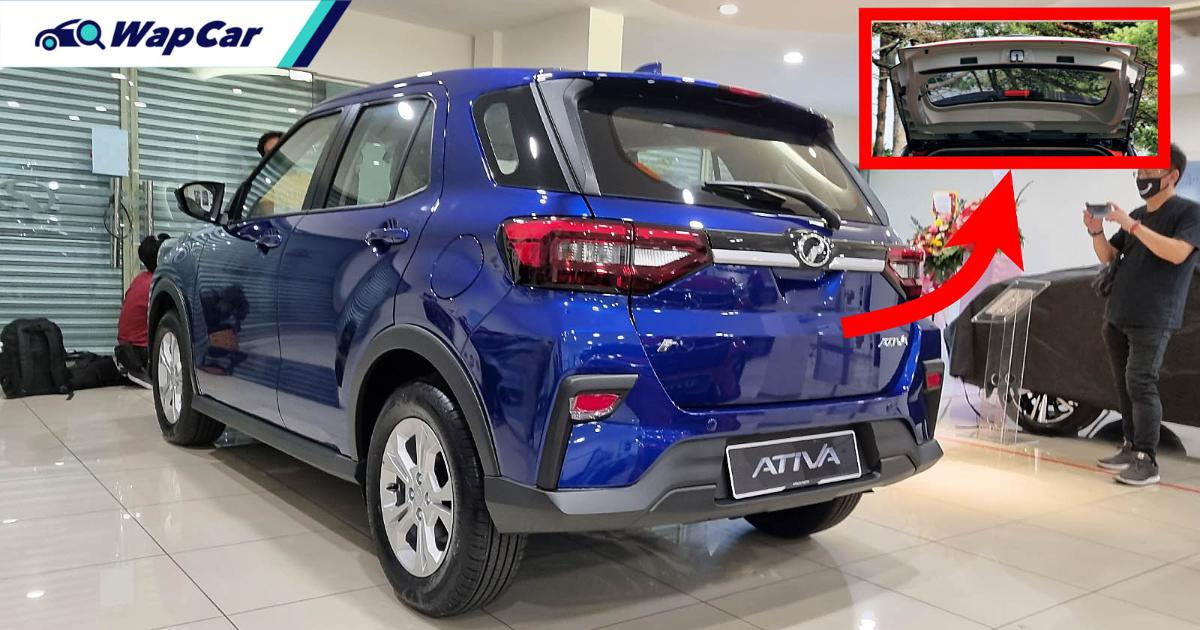 2021 Perodua Ativa gets a different tailgate from Japan's Rocky/Raize, why? 01