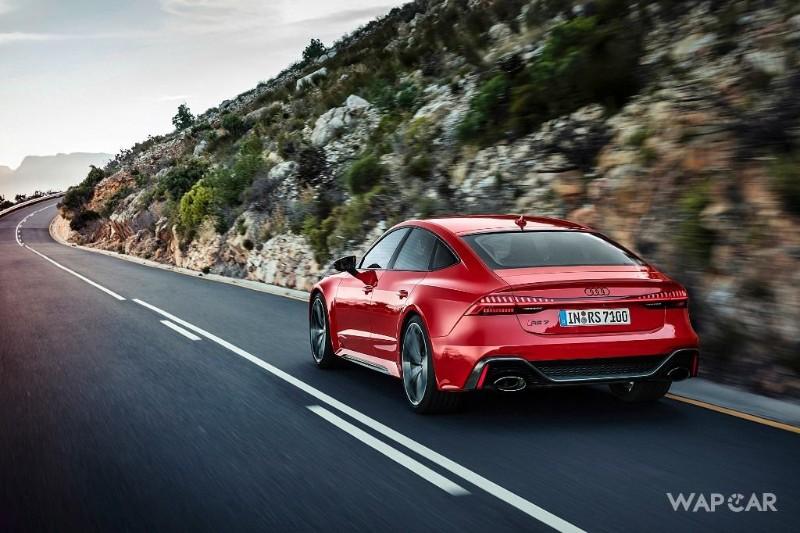 2020 Audi RS7 Sportback rear