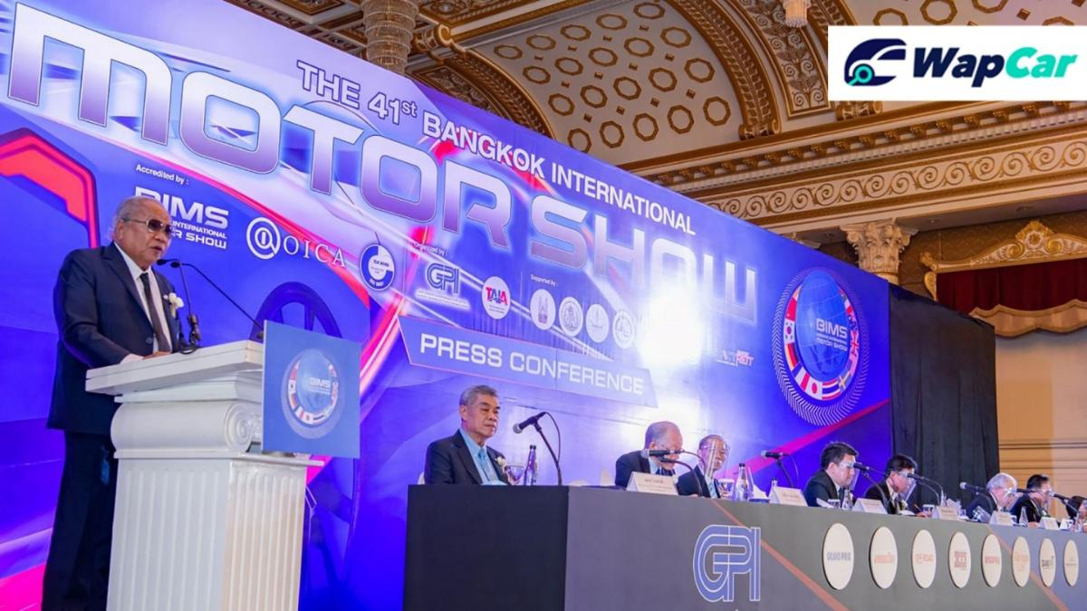 41st 2020 Bangkok International Motor Show date confirmed in July 01
