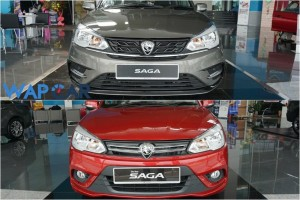 New Proton Saga – Comparing It Side-By-Side With The Older Model