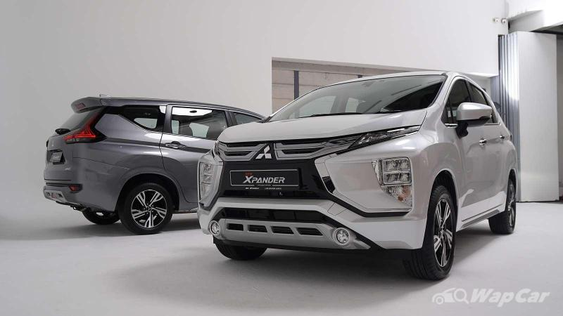 What's the minimum salary to get a loan for the 2020 Mitsubishi Xpander? 02