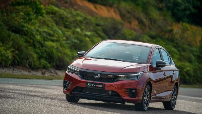 2020 Honda City RS 1.5 Hybrid Exterior 001