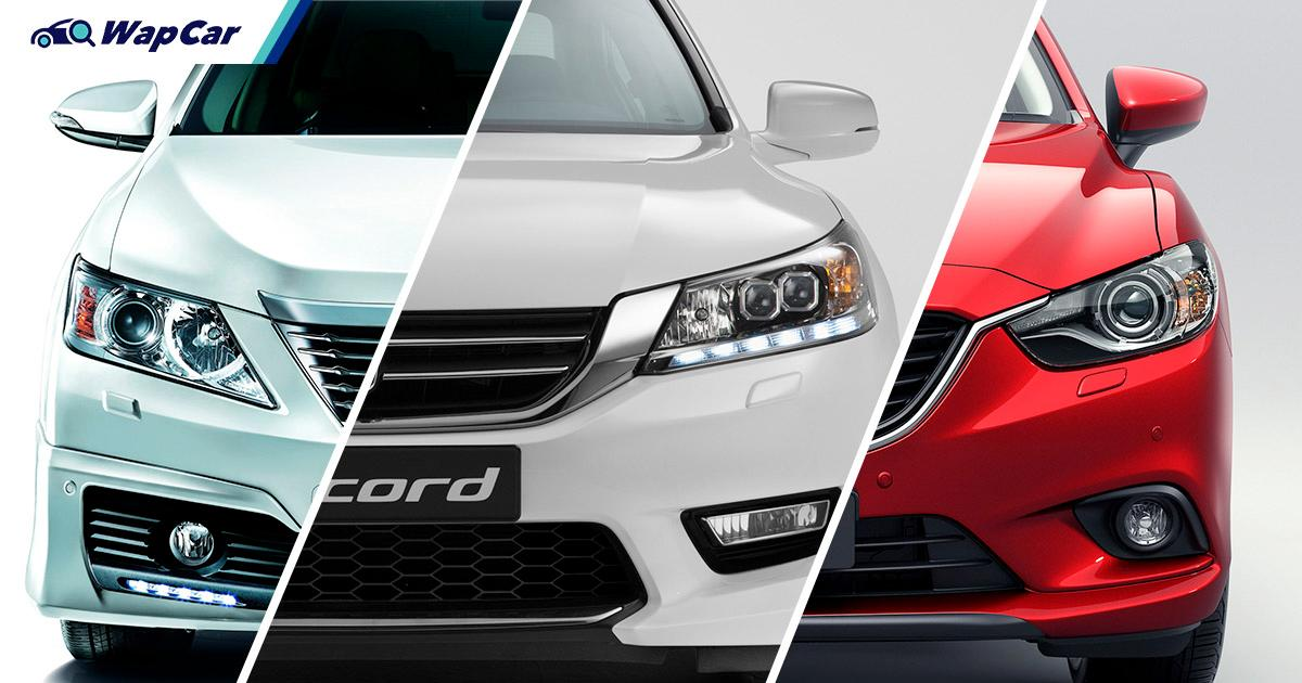 RM 60k for a used Toyota Camry, Honda Accord or Mazda 6? Why buy a new Perodua Myvi? 01
