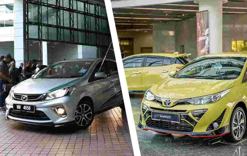 The 1.5L engine in Perodua Myvi and Toyota Yaris, are they the same?