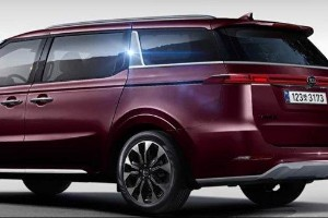 Rendered: the all-new 4th generation 2020 Kia Carnival rear end
