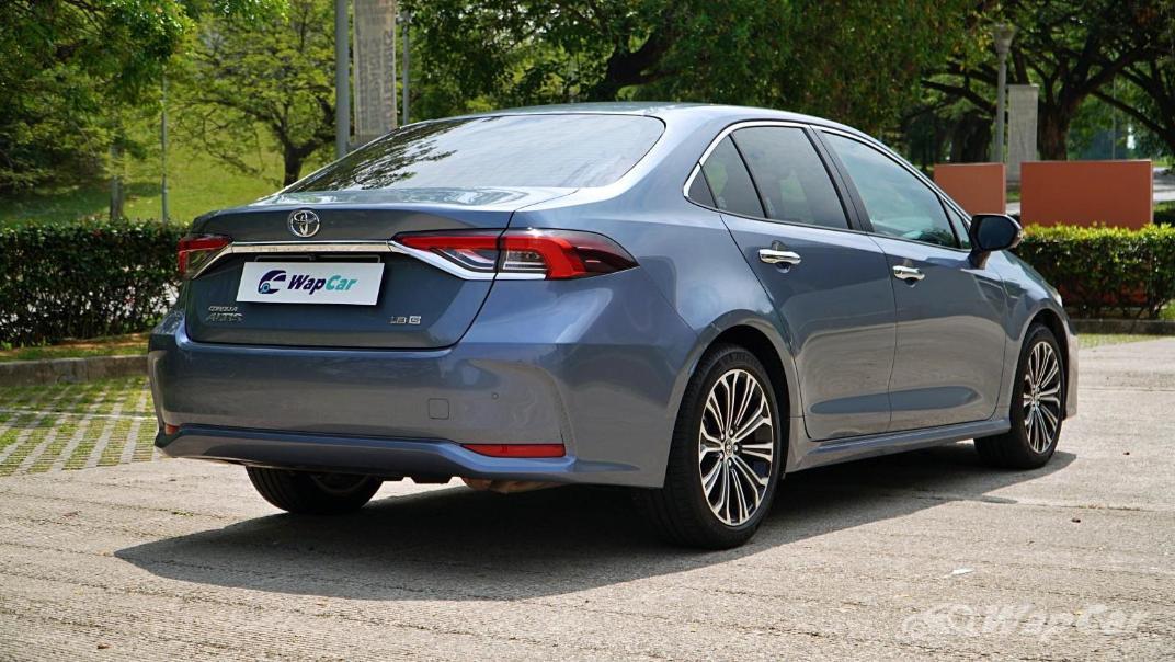 2020 Toyota Corolla Altis 1.8E Exterior 005