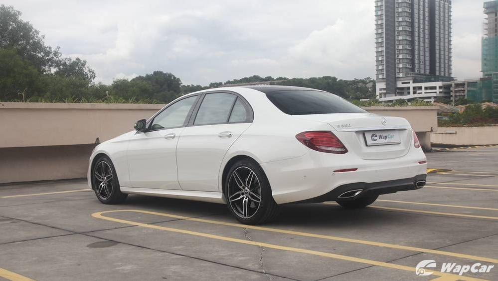 2019 Mercedes-Benz E-Class E 350 AMG Line Exterior 007