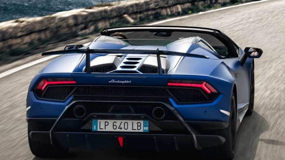 Lamborghini Huracán (2018) Exterior 007