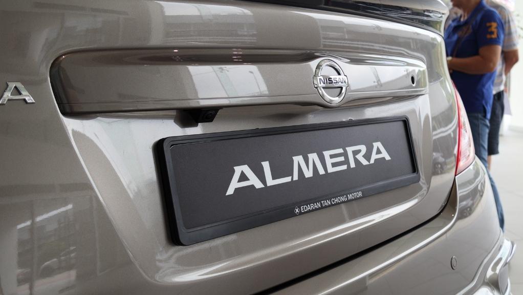 2018 Nissan Almera 1.5L VL AT Exterior 019