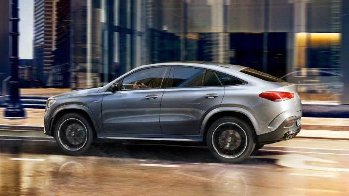 2020 Mercedes-Benz GLE 450 4Matic Coupe Exterior 003