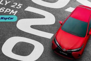 Pelancaran Toyota Vios 2021 facelift di Filipina, 25 Julai, 6 PM