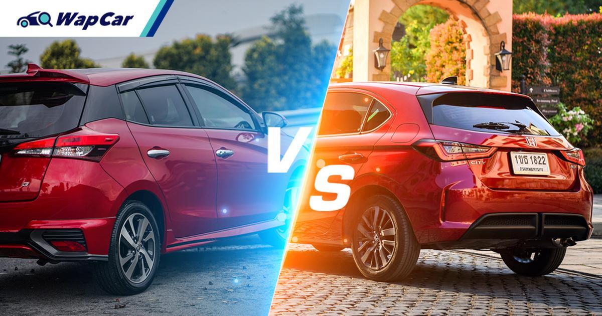 Chip supply cut: Honda City Hatchback drops behind Toyota Yaris in Thailand's May 2021 sales 01