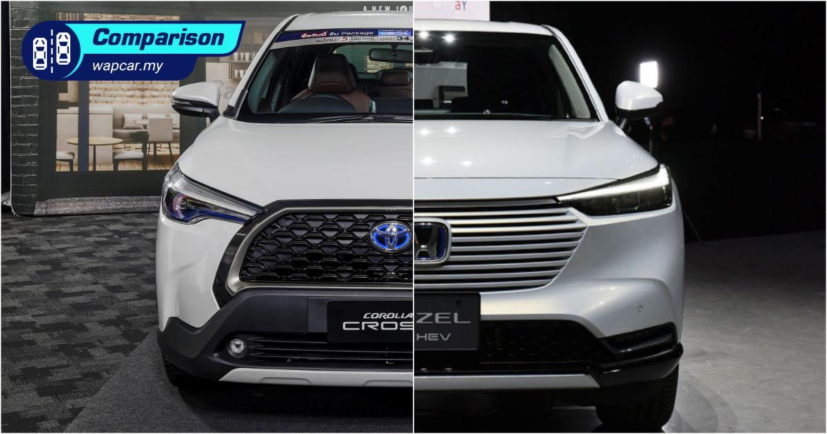 Comparison with the 2021 Toyota Corolla Cross' true rival – the 2022 Honda HR-V 01