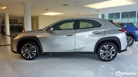 2020 Lexus UX 200 Luxury Exterior 006