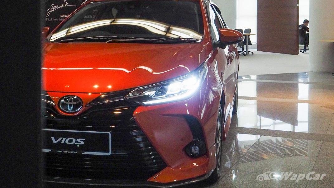 2021 Toyota Vios 1.5G Exterior 006